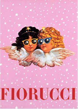 Fiorucci...i loved my white sweatshirt with these cool angels on it!!!!!!!