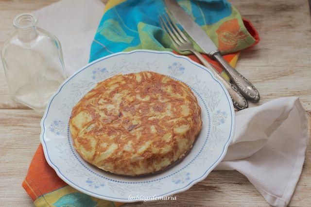 Tortilla de patatas en Olla GM