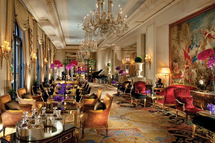 Passport to Paris | With private terraces, lovingly restored 18th-century tapestries, and a defining spirit of elegance and charm, the Four Seasons Hotel George V Paris redefines luxury! | Courtesy of: Four Seasons George V, Paris