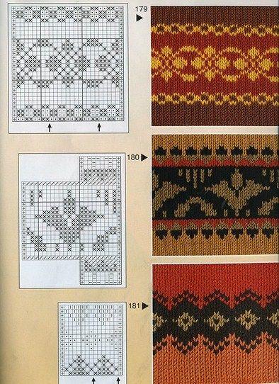 Victoria - Handmade Creations: Σχέδια ζακάρ για πλεκτά με βελόνες, που ξεχωρίζουν