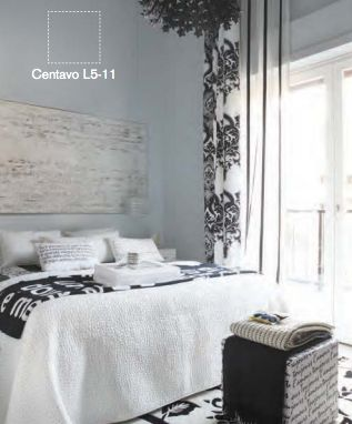 Colors and sons on pinterest for Pintura gris para interiores