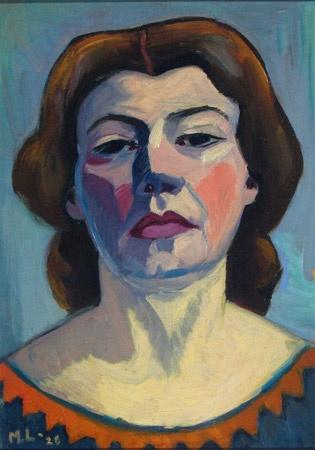 Maggie Laubser Self Portrait, 1928 475 x 340 mm