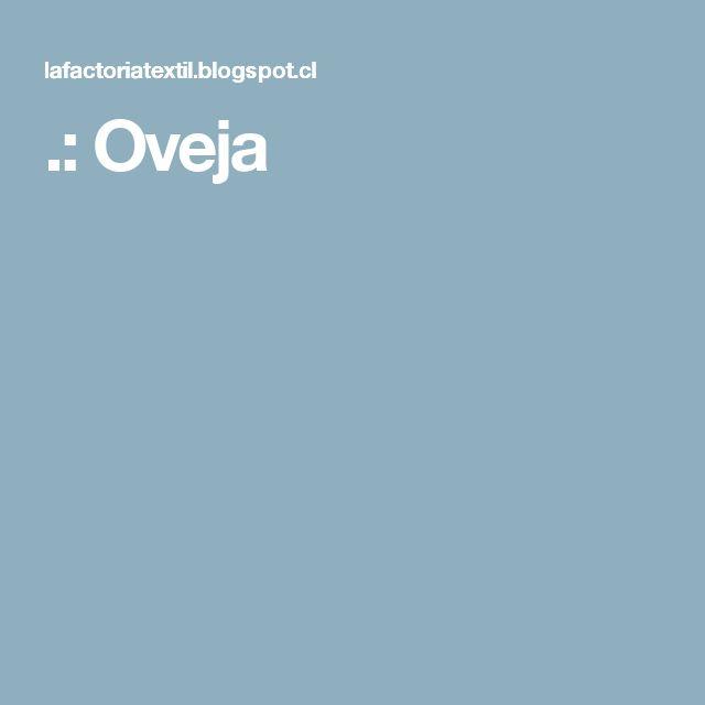 .: Oveja