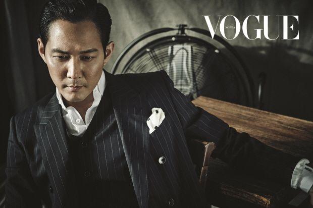Lee Jung Jae Vogue Korea August 2015 Look 1