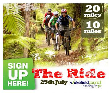 The Ride Website Advert. Increased sign ups are the brief and this advert delivered
