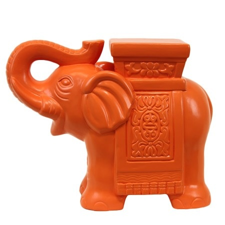 """Elephant Plant Stand - Condé Nast Traveler's A Passage to India on Joss and Main - $44.99 - Size: 10"""" H x 12.5"""" W x 5.5"""" D"""