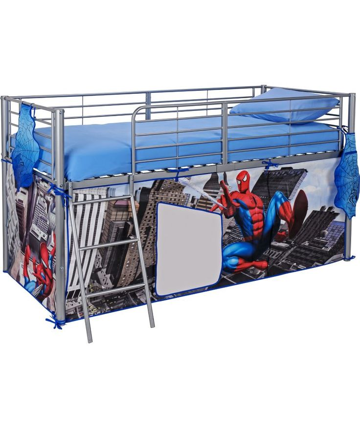 Buy Spider Man Tent Pack For Mid Sleeper Bed At Argos Co