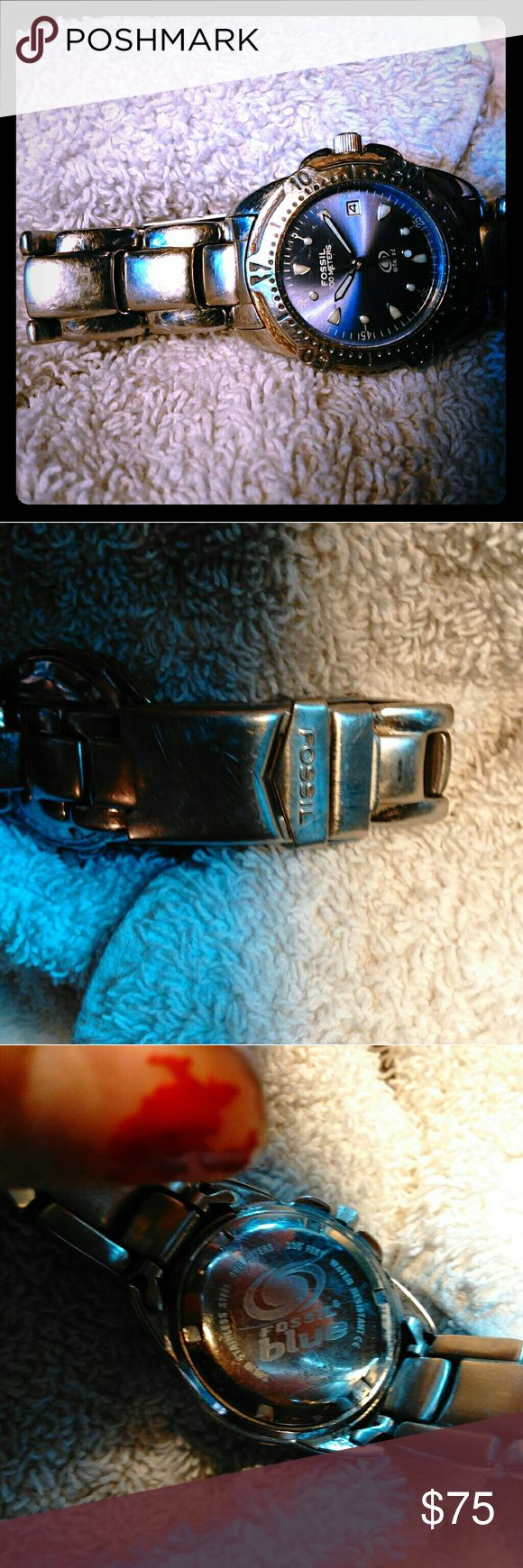 Fossil Blue watch Needs battery Fossil Accessories Watches