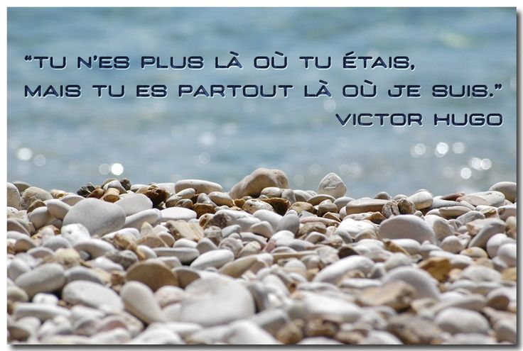 Citation de Victor Hugo sur le manque, l'absence                                                                                                                                                                                 Plus