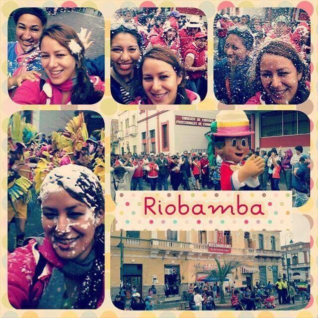 #Carnaval #Riobamba #Ecuador