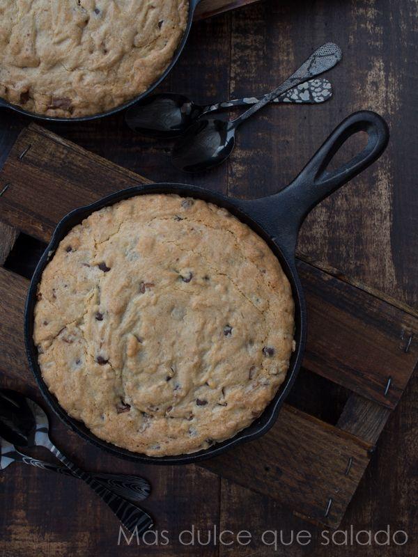Más dulce que salado: Cookie en sartén