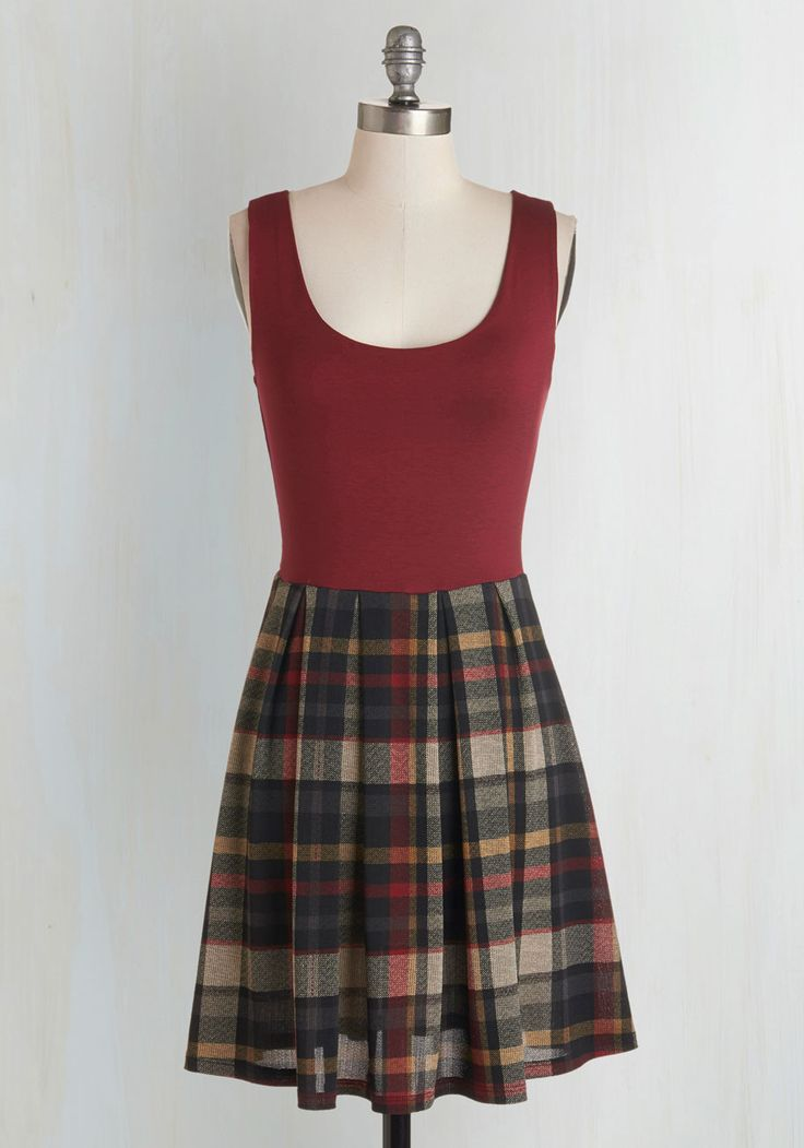 Shorthand and Sweet Dress. Studying is a stylish act when you review your notes in this studious twofer! #multi #modcloth