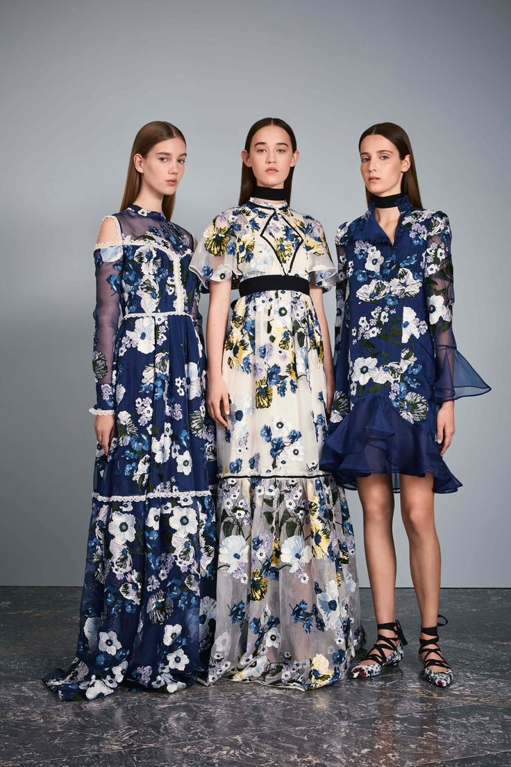 The Erdem Resort 2017 collection saw gorgeous botanicals juxtaposed against leather, chunky buckles and masculine tailoring.