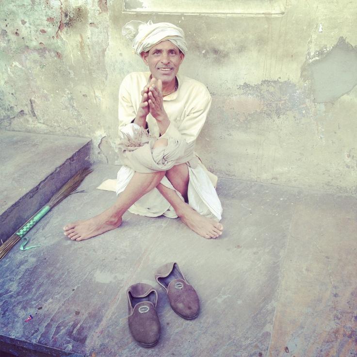 Men in Jaipur, India