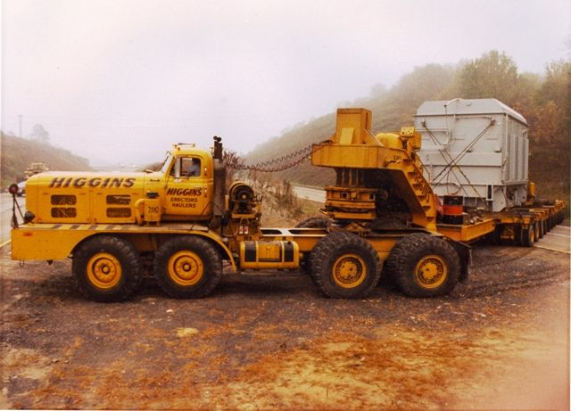 HENDRICKSON - Higgins, 301 ton transformer