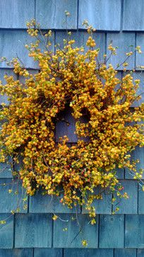 Fresh Bittersweet Wreath by Scarletsmile contemporary-wreaths-and-garlands