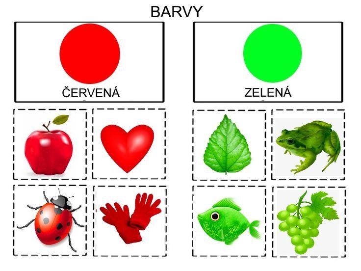 Barvy prirazovani