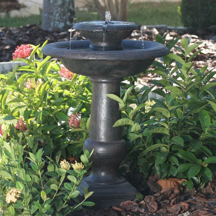 17 best Bird Baths images on Pinterest Bird baths Bird bath
