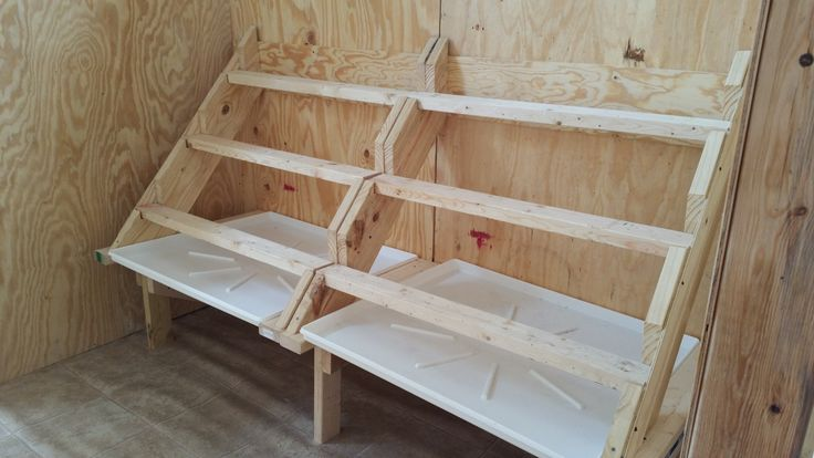 chicken roosts and nest boxes - Google Search                                                                                                                                                     More