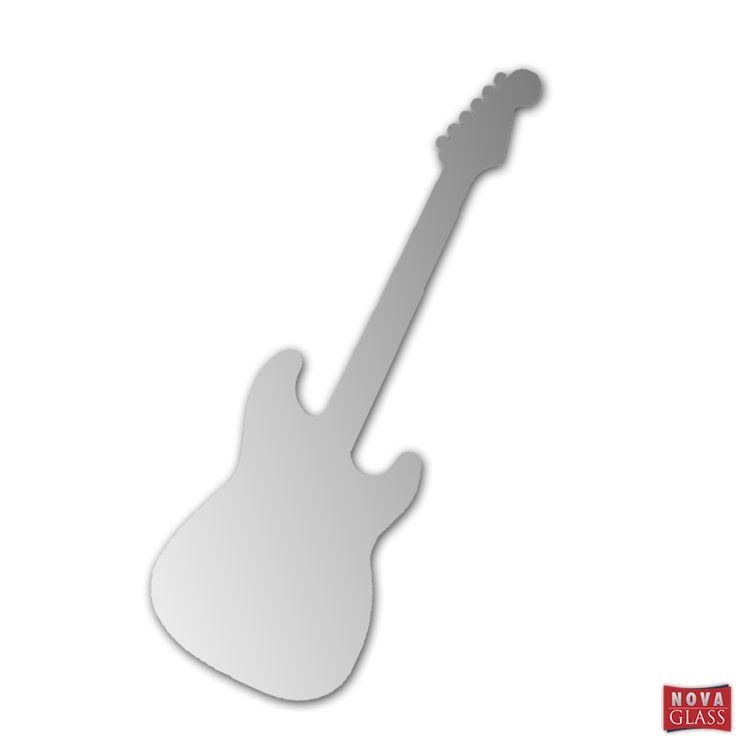 Καθρέπτης σε σχήμα κιθάρας
