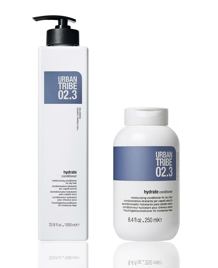 02.3 hydrate conditioner by Urban Tribe haircare have a deep hydrating and conditioning effect, nourishing the inner and outer hair structures.