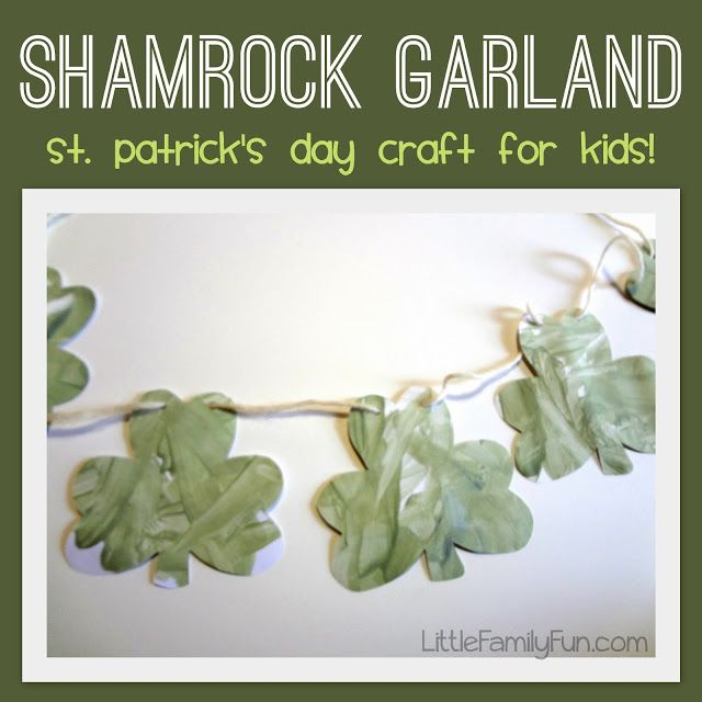 Fun St. Patrick's Day craft for kids! Cute decoration for the house!