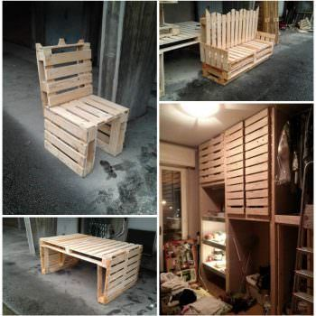 Pallet Lobby Furniture