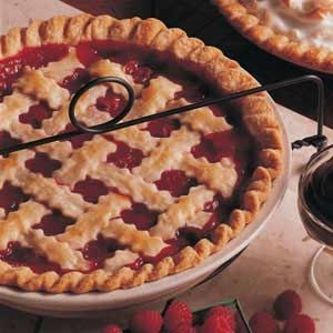 Cherry Berry Pie Recipe -Cherries and raspberries are plentiful here in Upper Peninsula. This recipe has been in my family many years. I won first place with it in a contest.