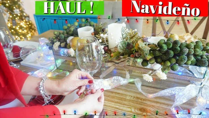 HAUL DE NAVIDAD TIENDA ONLINE NEW CHIC | DONDE COMPRAR  DECORACIONES BAR...