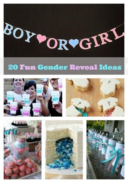 20 Unique Gender Reveal Party Ideas | All Diaper Cakes Blog