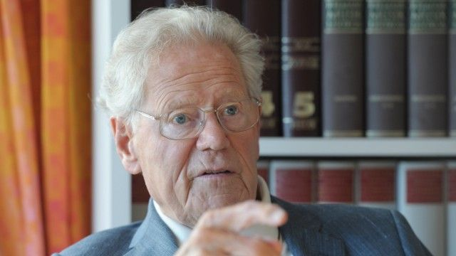 """Hans Küng zu Sterbehilfe """"Ich möchte bereit sein, das jederzeit zu tun"""""""