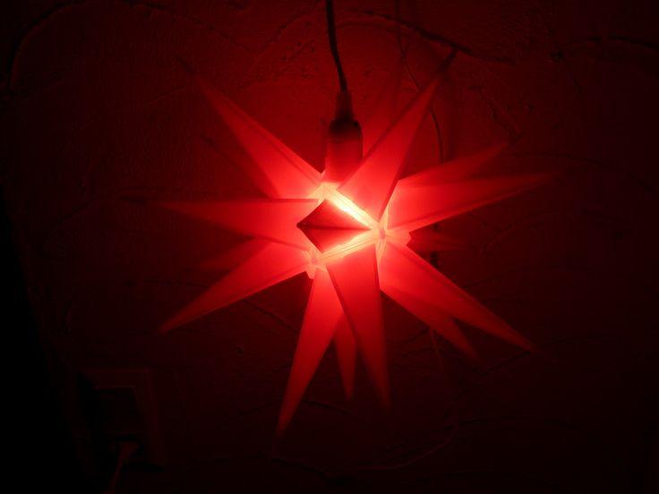 Kerzen & Beleuchtung - Deko Lampe Stern - ein Designerstück von Kleine-Geschenketruhe bei DaWanda