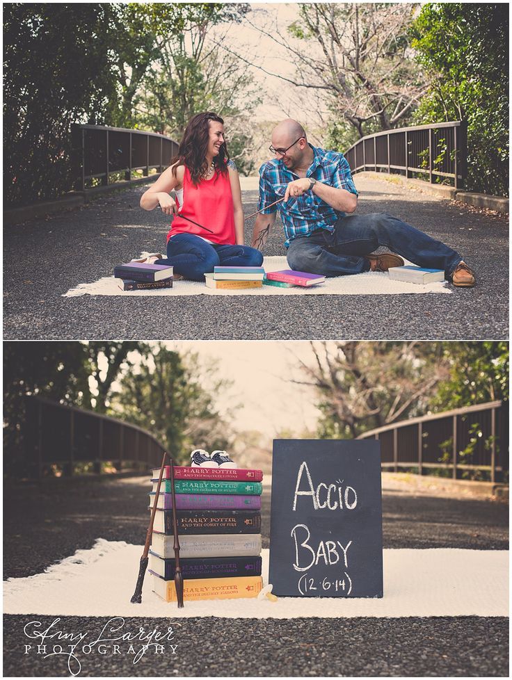 Amy Larger Photography, Pregnancy Announcement, Accio Baby, Babies, Harry Potter, Spells, Photography Inspiration