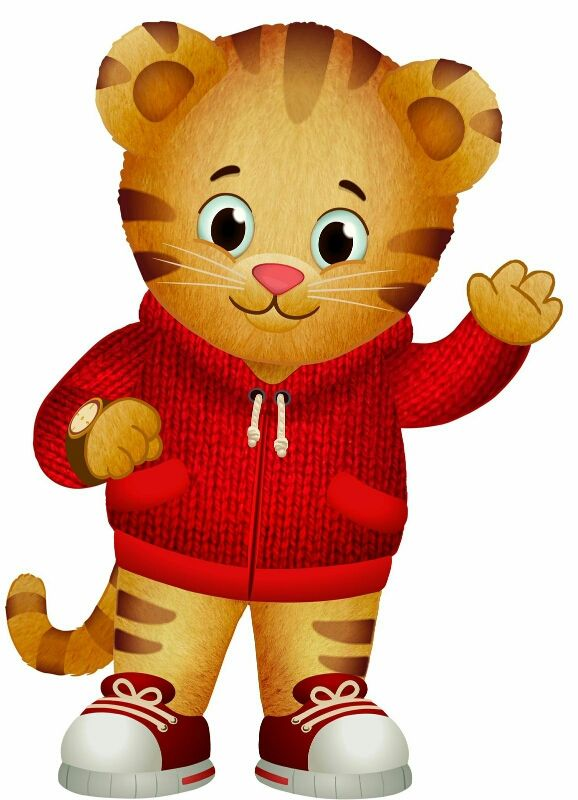 Lil Mama's Favorite. Daniel Tiger.. Excited To Take Her To See Him In October..