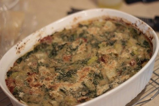 There are two foods that are synonymous with Utica, NY: chicken riggies and greens. I already covered the riggies, this time I am making greens. There are many ways to make greens, the Utica way of making greens adds a prosciutto, hot peppers, bread crumbs, cheese and chicken stock and then goes in the oven […]