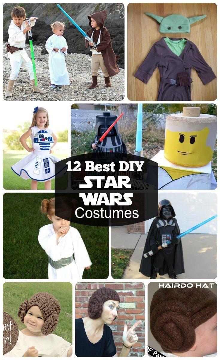 star wars costumes best diy and star wars on pinterest. Black Bedroom Furniture Sets. Home Design Ideas