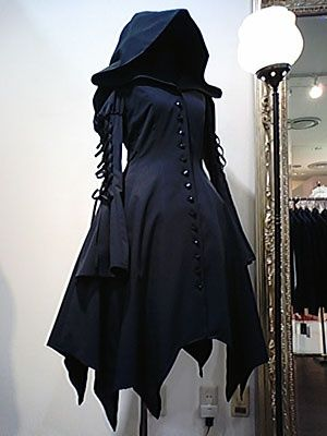 Gee where do you buy this?    gothicavenue:  Little Black Riding Hood? I LOVED THIS! :D