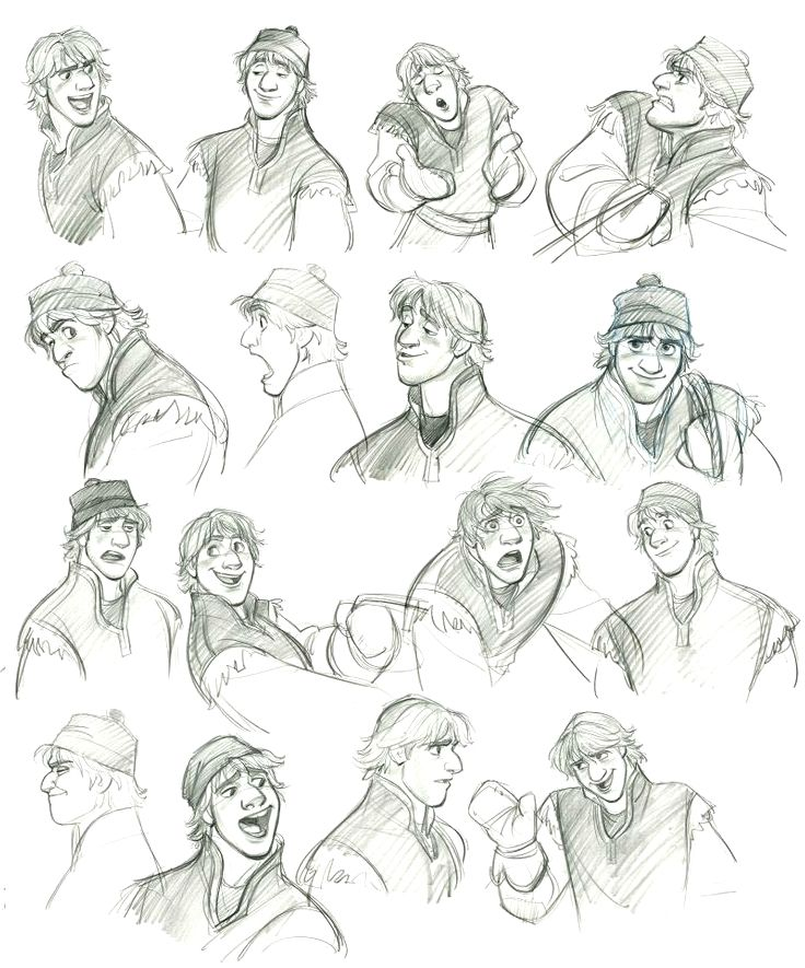 Disney Character Design Study : Art by jin kim website smoanimato tumblr
