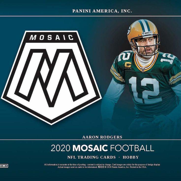 2020 panini mosaic football checklist nfl set info boxes