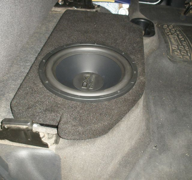 Fox Acoustics Dodge Ram Quad Crew Cab Dual 12 Vented Sub Speaker Box 2002 2015 Http Www Productsforautomotive Com Fox Crew Cab Custom Subwoofer Box Quad