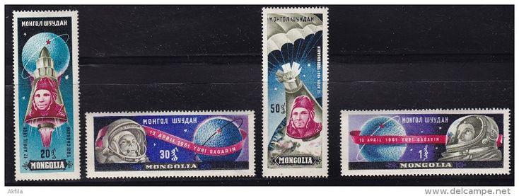 743. Mongolia, 1961, Yuri Gagarin, MNH (**) - Mongolia