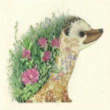 Neste post, uma série de ilustrações criadas por Daniel Mackie. É uma série de animais selvagens, mas não da maneira que você costuma ver.