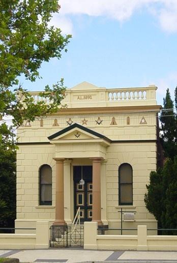 Masonic Lodge, Creswick