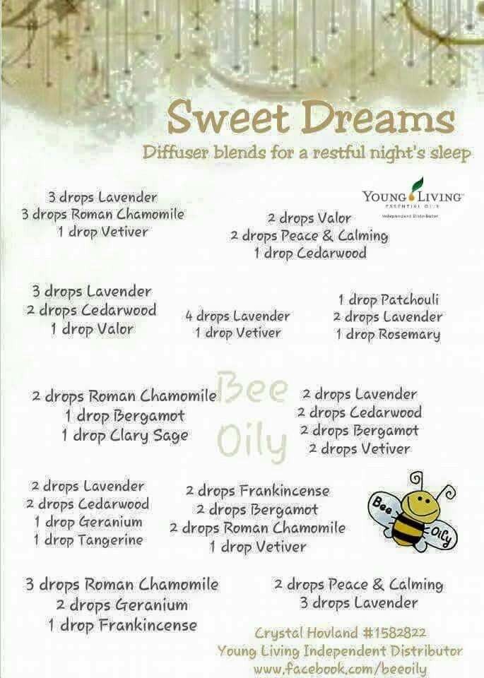 Blends For A Good Nights Sleep Essential Oils Sleeping