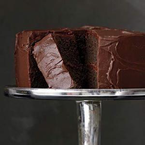 Comfort Food Menu, DESSERT   Chocolate Layer Cake #RRMenuPlanner
