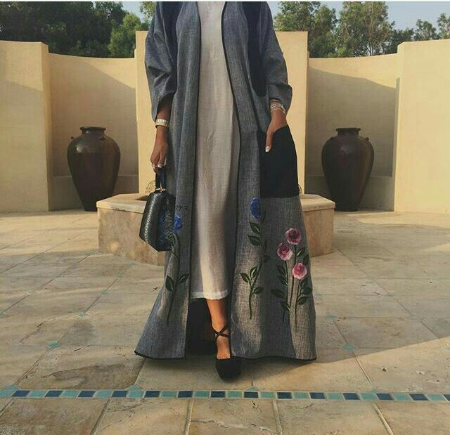 Feeling Floral #Abaya#modestfashion