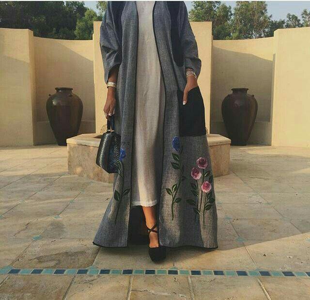 Feeling Floral #Abaya#modestfashion