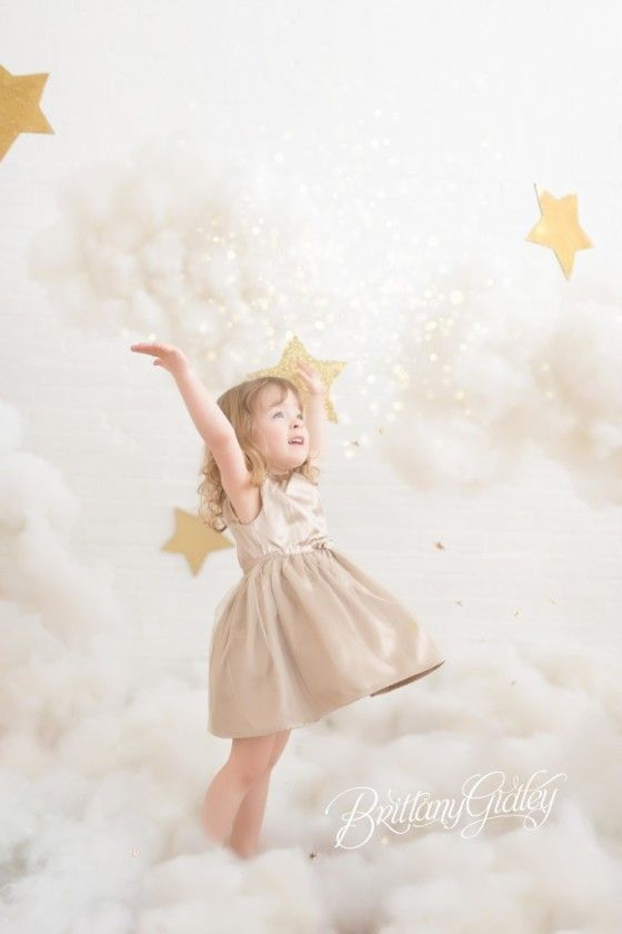 Cloud 9 Dream Session | Stars & Clouds Photo Shoot | Brittany Gidley Photography LLC