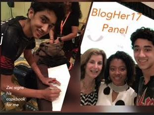 BlogHer 17 -   my kid food panel with Zac Cara & Haile Thomas