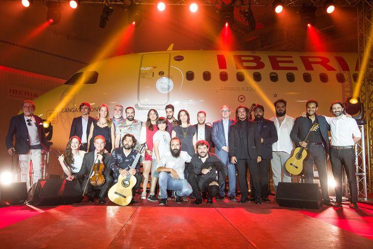 El #talento reunido para hacer posible que #laguitarravuela. Evento homenaje a #PacodeLucía a través de su última guitarra, #LaMaestro.
